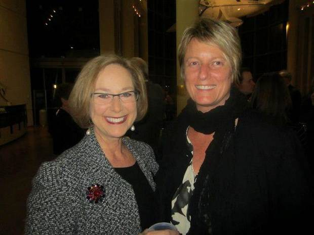 Jane Sutter, Kim Cooper. PHOTO PROVIDED