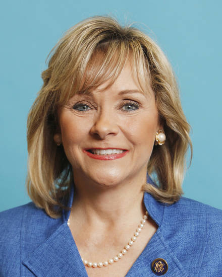 GUBERNATORIAL CANDIDATE: Mary Fallin, filing for office of Governor, June 2010. Photo by David McDaniel, The Oklahoman. ORG XMIT: KOD