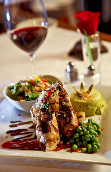 The seasonal vegetable plate at The Metro Wine Bar and Bistro includes mushroom strudel. Photo by Chris Landsberger, The Oklahoman <strong>CHRIS LANDSBERGER - THE OKLAHOMAN</strong>