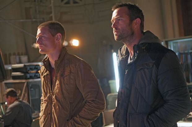 "Philip Winchester (l.) and Sullivan Stapleton (r.) in Cinemax's hit action series ""Strike Back."" - Photo by Liam Daniel/Cinemax"