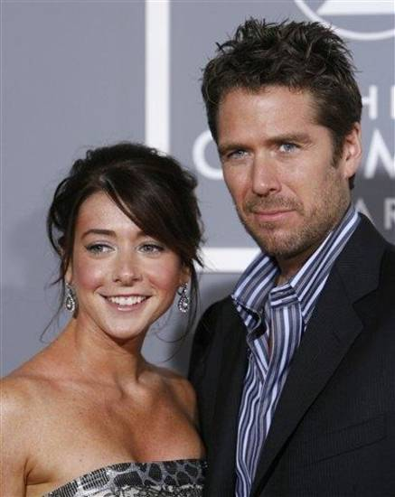 Alyson Hannigan and Alexis Denisof (AP)