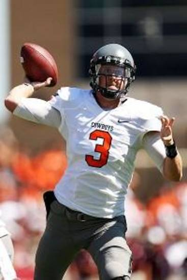 Brandon Weeden is climbing the Heisman watch lists.
