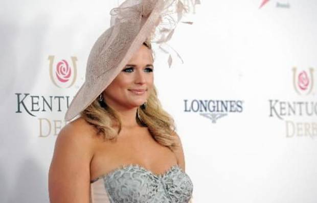 - Miranda Lambert walks the Kentucky Derby Red Carpet, Saturday, May 4, 2013, in Louisville, Ky. (AP)
