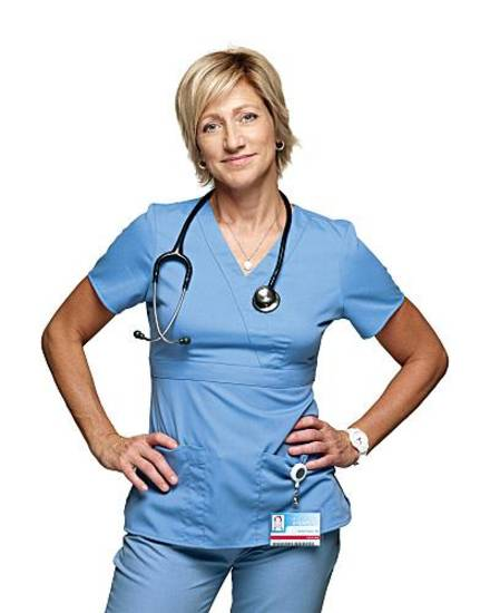 Edie Falco as Jackie Peyton in Nurse Jackie (Season 2) - Photo: Martin Segal/SHOWTIME - Photo ID: nurse_jackie_gal2_ef_043