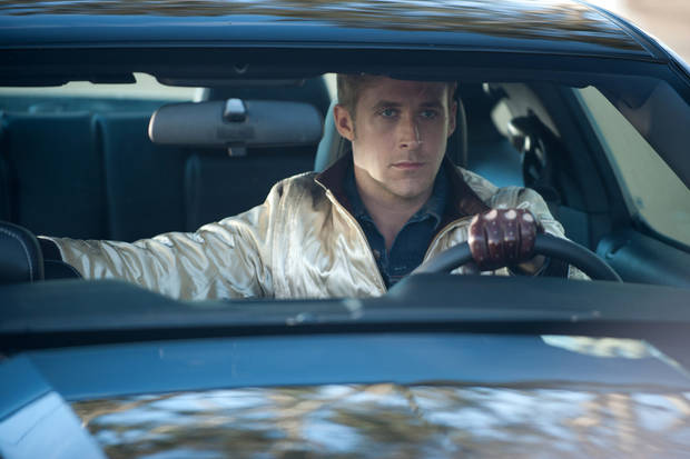 In this image released by Film District,  Ryan Gosling is shown in a scene from &quot;Drive.&quot; (AP Photo/Film District, Richard Foreman) ORG XMIT: NYET752