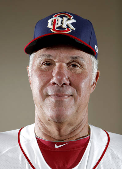 MINOR LEAGUE BASEBALL: Oklahoma City hitting coach Leon Roberts poses for a photograph during media day for the Oklahoma City RedHawks in Oklahoma City, Tuesday, April 3, 2012. Photo by Sarah Phipps, The Oklahoman