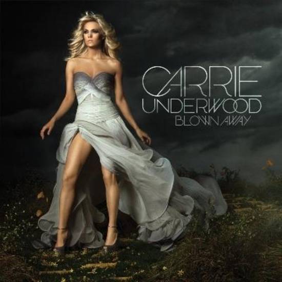 "Carrie Underwood ""Blown Away"" CD cover      ORG XMIT: 1203062236194587"
