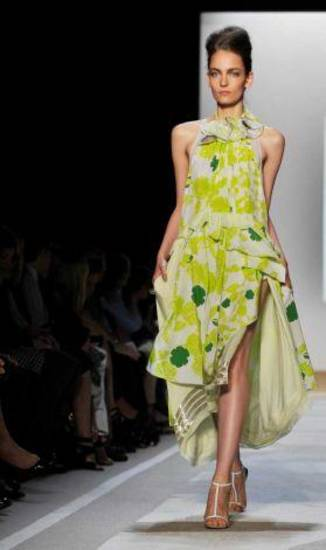 Diane von Furstenberg spring 2012, shown on the runway during Fashion Week in New York. AP PHOTO