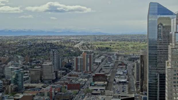 A view from the Calgary Tower