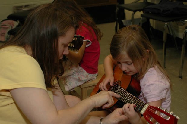 See Suzuki Guitar demonstrations this Saturday at the OCU Performing Arts Academy Open House!<br/><b>Community Photo By:</b> Jerry Heimer<br/><b>Submitted By:</b> Dan,