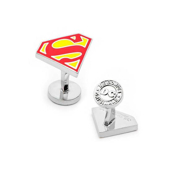Superman cufflinks. Photo provided by Kohl&acirc;s