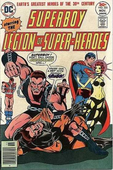 Superboy and the Legion of Superheroes 221 (via Coverbrowser.com)