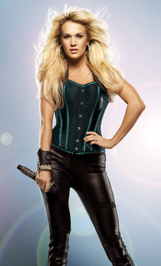 "Carrie Underwood's ""Blown Away"" tour promotional photo. PHOTO PROVIDED <strong></strong>"