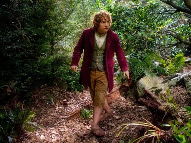 Martin Freeman stars as Bilbo Baggins in the fantasy adventure �The Hobbit: An Unexpected Journey.� Warner Bros. photo