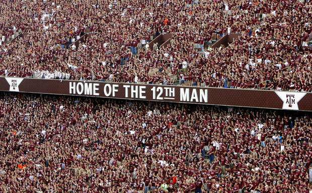 Kyle Field before a Texas A&amp;M football game in College Station, Texas. OKLAHOMAN ARCHIVE PHOTO