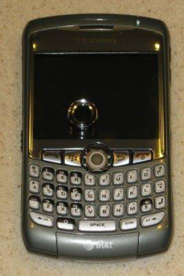 Not my actual Blackberry