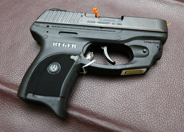 GUNS / WEAPONS: Ruger LC9 handgun at Locked and Loaded, 14451 NE 23rd Street, in Choctaw, Okla., Wednesday, Jan. 16, 2013. Photo by Nate Billings, The Oklahoman
