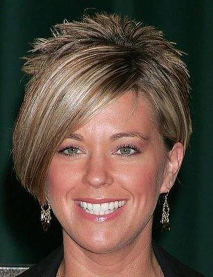"Kate Gosselin of ""Jon & Kate Plus 8."" Her hair is getting plenty of attention."