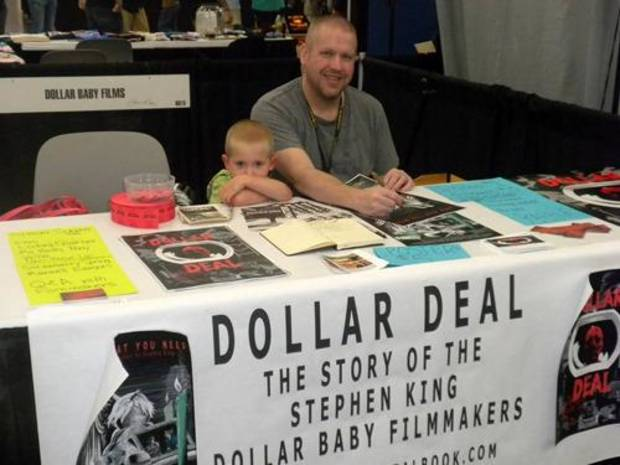 Oklahoma writer/filmmaker Shawn Lealos and his son Ash