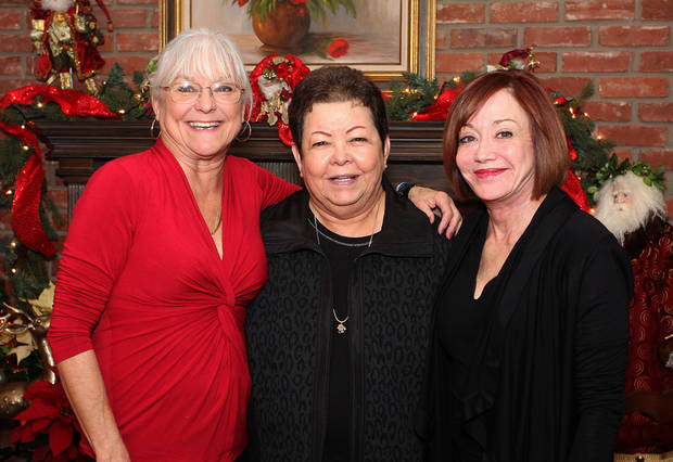 Rawsie Boyles, Tina Stubbs, Connie Givens. Photo by David Faytinger for the Oklahoman