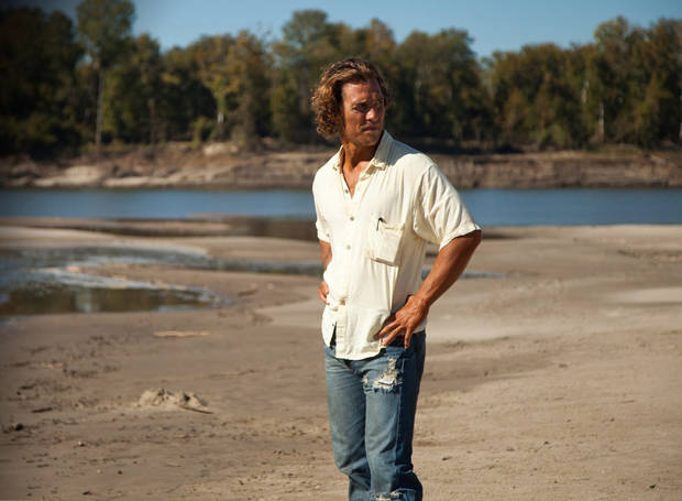 "Matthew McConaughey stars in ""Mud."""