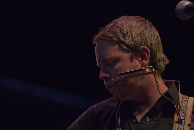 John Fullbright performs Saturday night at UCO's Mitchell Hall Theater. Photos by Nathan Poppe, The Oklahoman