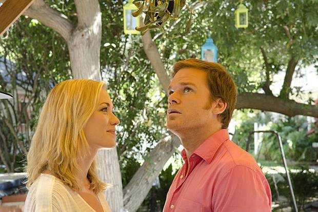 Yvonne Strahovski as Hannah McKay and Michael C. Hall as Dexter Morgan (Season 7, episode 11) - Photo: Randy Tepper/Showtime - Photo ID: dexter_711_0866