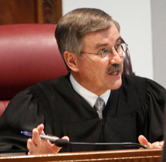 Judge Ray C. Elliott in a photo taken June 13, 2012. Photo by Nate Billings, The Oklahoman <strong>NATE BILLINGS - NATE BILLINGS</strong>