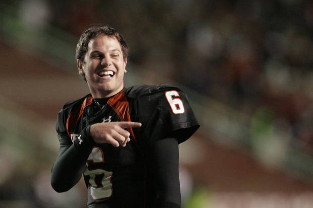 Texas Tech quarterback Graham Harrell led the Red Raiders to a win over Texas. AP photo