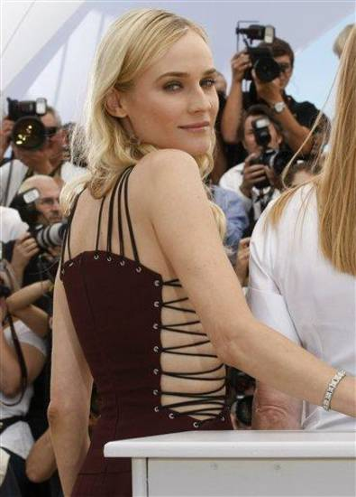 Actress Diane Kruger poses during a photo call for the members of the jury at the 65th international film festival, in Cannes, southern France, Wednesday, May 16, 2012. (AP Photo/Lionel Cironneau)