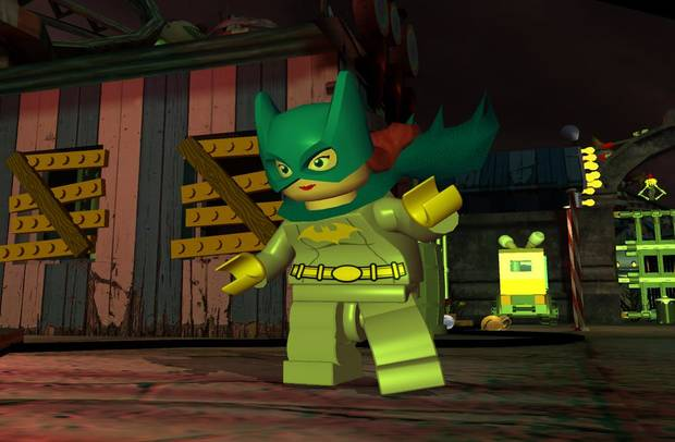 Screen shot from LEGO Batman: The Video game