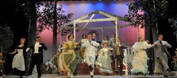 "Just in time for Valentine's Day, Oklahoma City Repertory Theatre is staging one of William Shakespeare's most romantic comedies, ""Much Ado About Nothing."" Photo by Wendy Mutz"