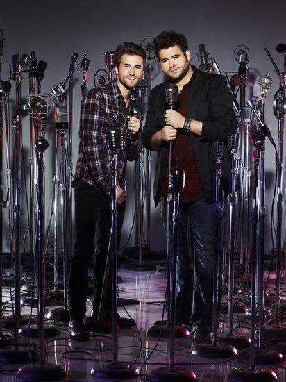 "THE VOICE -- Season: 4 -- Pictured: (l-r) ""The Swon Bros"", Colton Swon, Zach Colton -- (Photo by: Chris Haston/NBC)"
