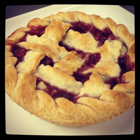 A fruit pie.