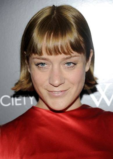 "Actress Chloe Sevigny attends a special screening of ""W.E."" at the Museum of Modern Art on Sunday, Dec. 4, 2011 in New York. (AP Photo/Evan Agostini)"