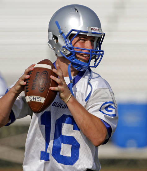 Guthrie's Bryan Dutton threw 29 touchdowns last year. PHOTO BY BRYAN TERRY, THE OKLAHOMAN