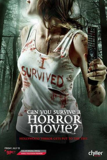 "CAN YOU SURVIVE A HORROR MOVIE -- Pictured: ""Can You Survive A Horror Movie?"" -- Key Art -- (Photo by: NBC)"