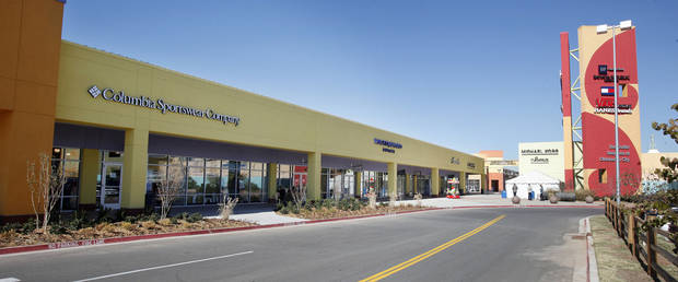 The previous expansion at The Outlet Shoppes included a Columbia Sports and Ann Taylor Loft. <strong>PAUL B. SOUTHERLAND - PAUL B. SOUTHERLAND</strong>