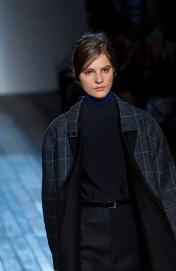 Victoria Beckham fall 2013 runway collection in New York.