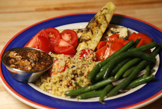 Seasonal Vegetable Platter at Redrock Canyon Grill in Oklahoma City, Monday, Nov. 5, 2012. Photo by Nate Billings, The Oklahoman