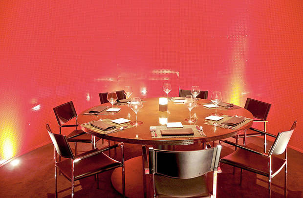 Inside Red Prime Steak. Photo by Ben Pendleton, FOR THE OKLAHOMAN