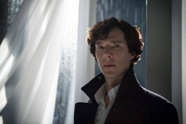 "Benedict Cumberbatch stars as Sherlock Holmes in ""Sherlock."" Photo provided."