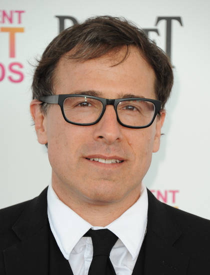 Filmmaker David O. Russell arrives at the Independent Spirit Awards on Saturday, Feb. 23, 2013, in Santa Monica, Calif.  (Photo by Jordan Strauss/Invision/AP)