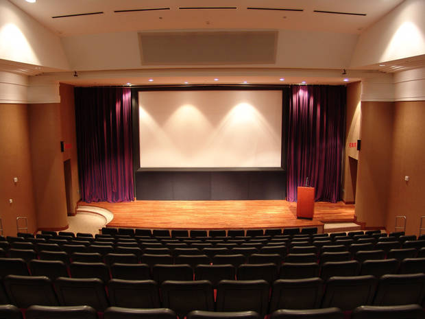 The Oklahoma City Museum of Art's 250-seat Noble Theatre.   Photo provided <strong>Photo provided</strong>