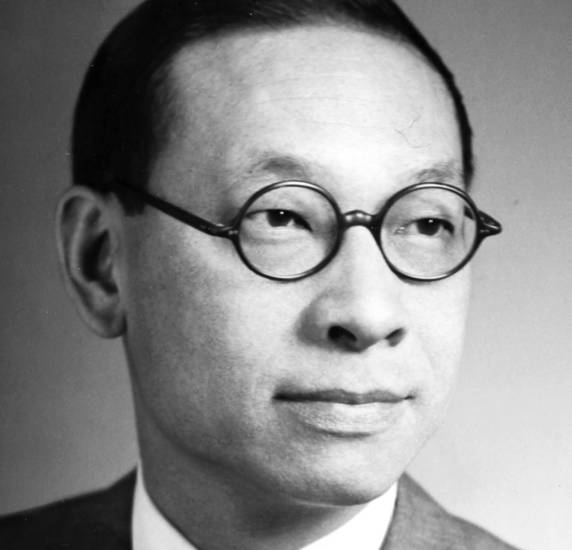 I.M. Pei Internationally known city planner and architect, as shown in 1965.