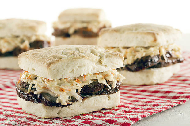 These pork sandwiches from the Made in Oklahoma Coalition are simple, delicious and perfect for get-togethers. <strong> - PROVIDED</strong>