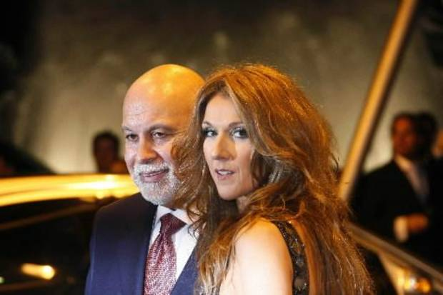 Celine Dion and Rene Angelil at the 2007 World Music Awards (AP photo by AP Photo/Michel Spingler)