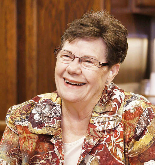 Georgia Devening, executive director of the Oklahoma Foundation for the Disabled.    Photo by Jim Beckel, The Oklahoman <strong>Jim Beckel - THE OKLAHOMAN</strong>