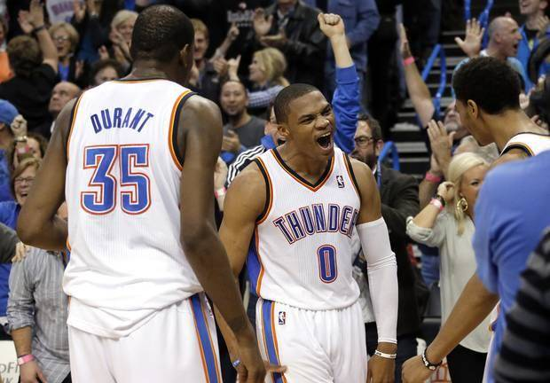 Russell Westbrook (sick) questionable for Friday night's game a…