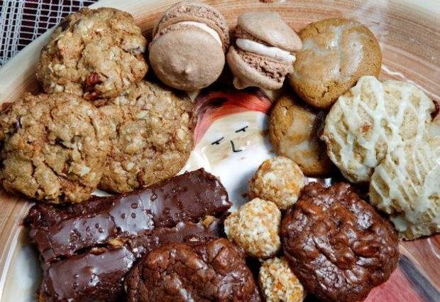 As assortment of cookies to make for Santa this Christmas. Photo by Jim Beckel, The Oklahoman <strong>JIM BECKEL</strong>
